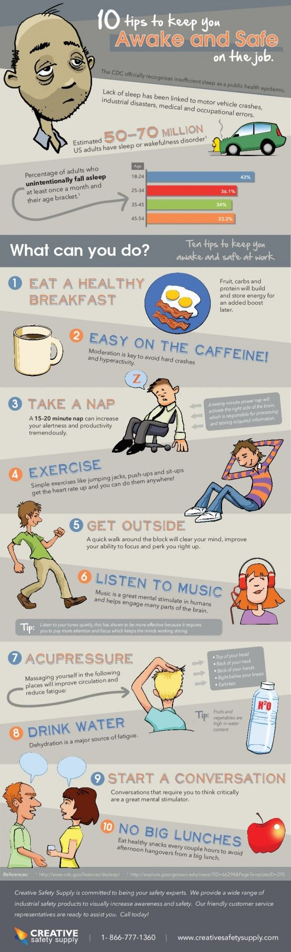 Safety tips for meetings
