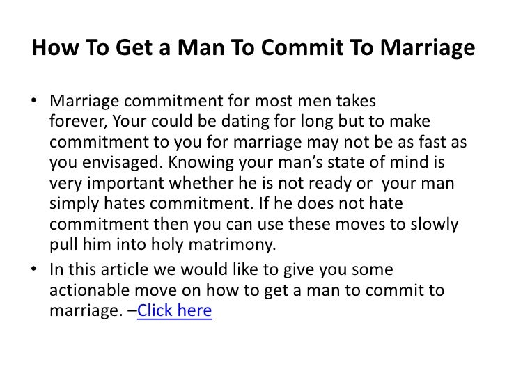 How to make a taurus man commit