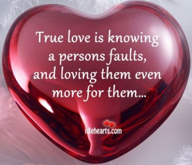 What is the sign of true love