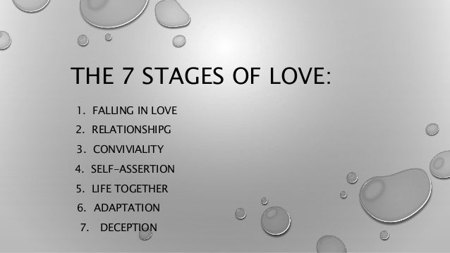 Beginning stages of love