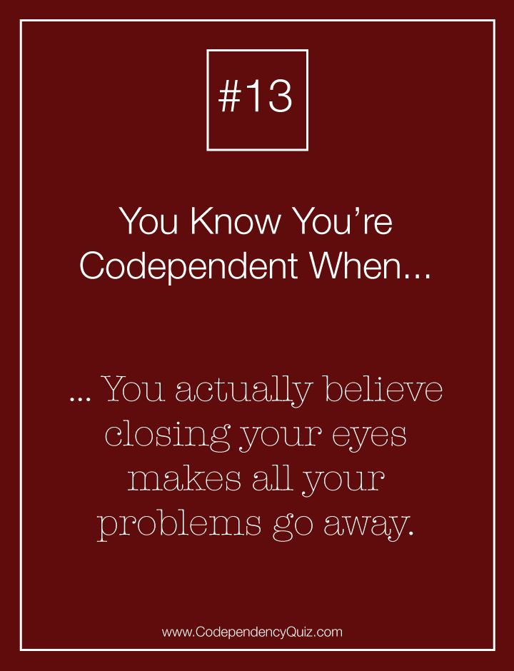 How to tell if you are codependent