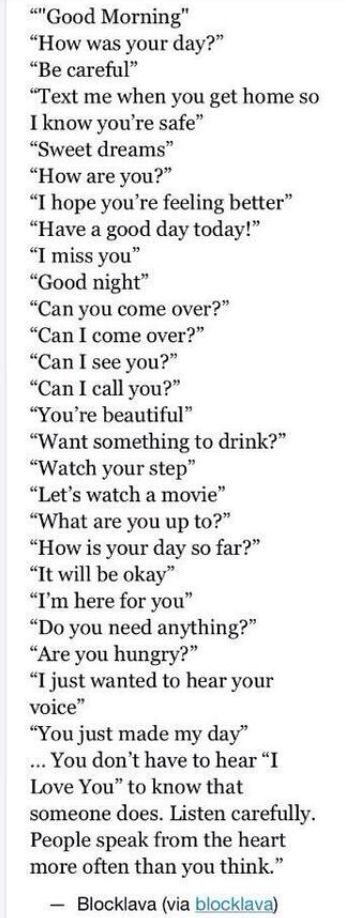 Other ways of saying i love you so much