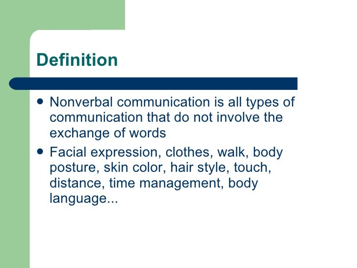Definition of a verbal