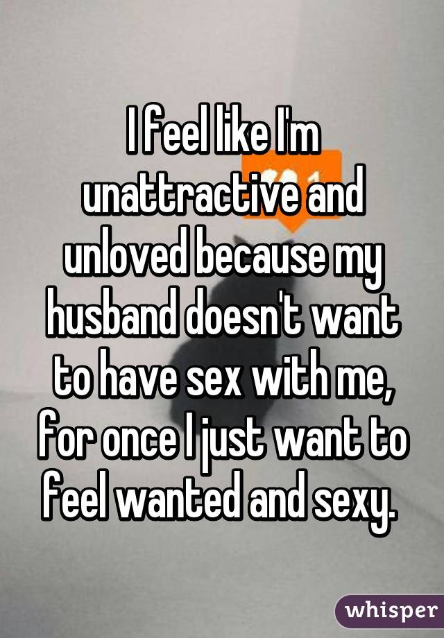 Husband not wanting sex