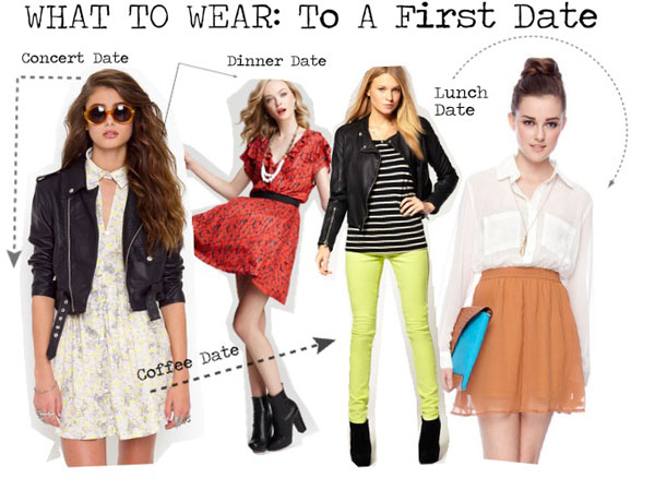What to wear on a first date women