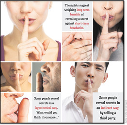 How to tell a secret