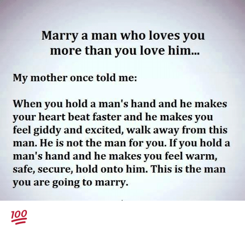 When should a man marry