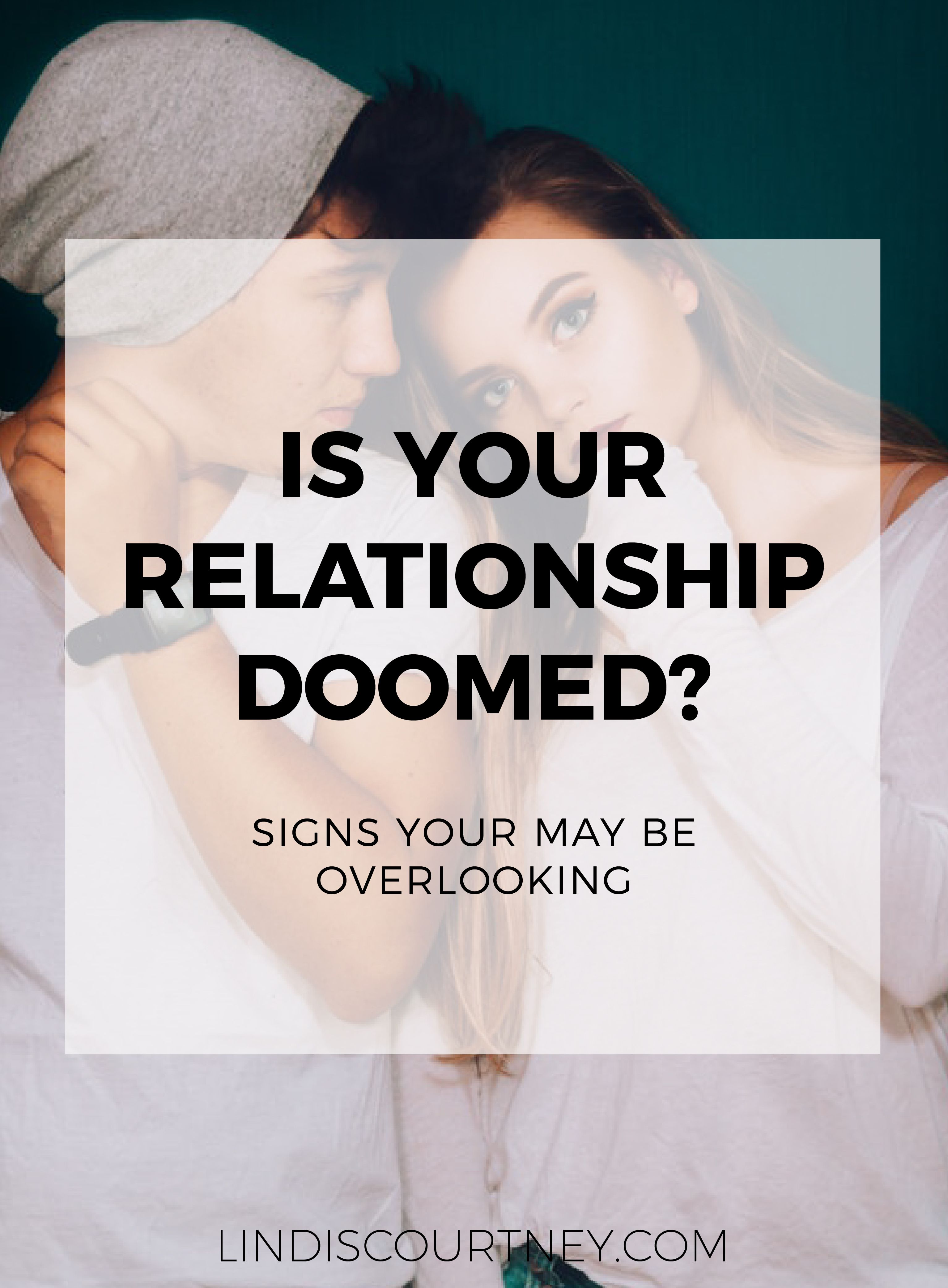 How to know when your relationship is failing
