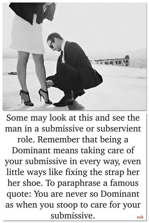 Being submissive in a relationship