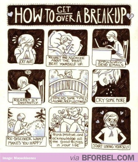 How to get over a brakeup