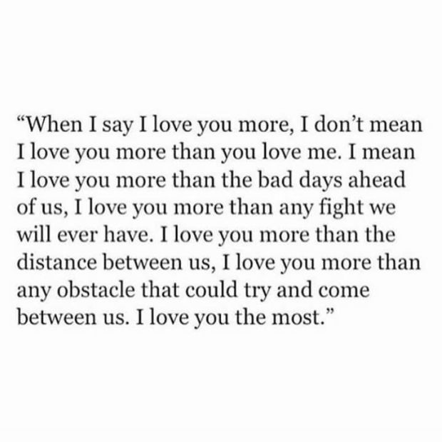 How long before you say i love you