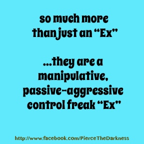 Dealing with a controlling ex husband