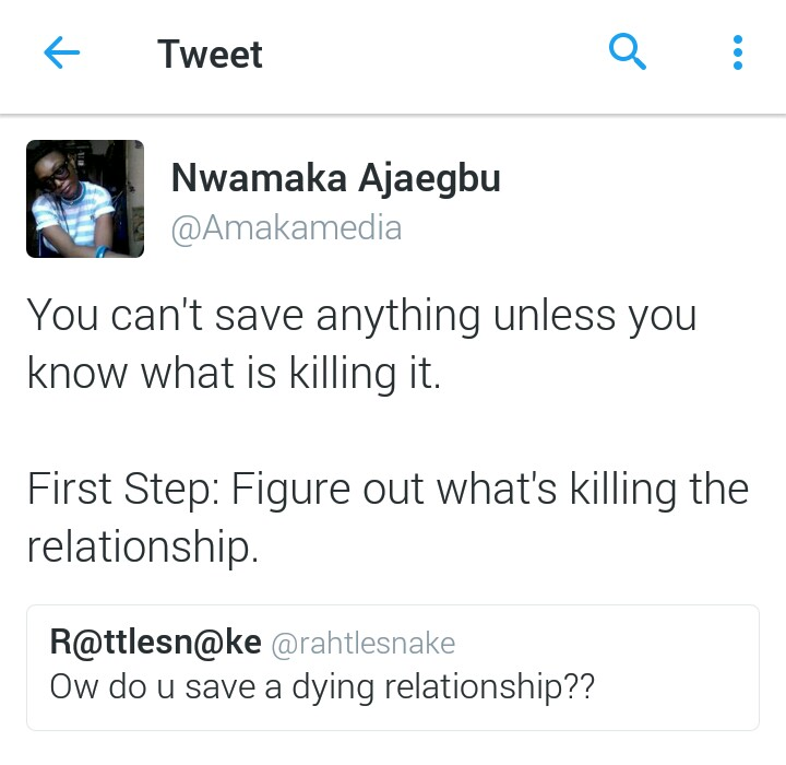 How to save a dying relationship