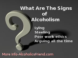 How to tell if someone is becoming an alcoholic