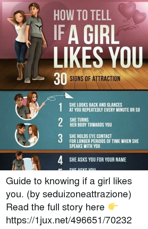 How to know if someone likes you back