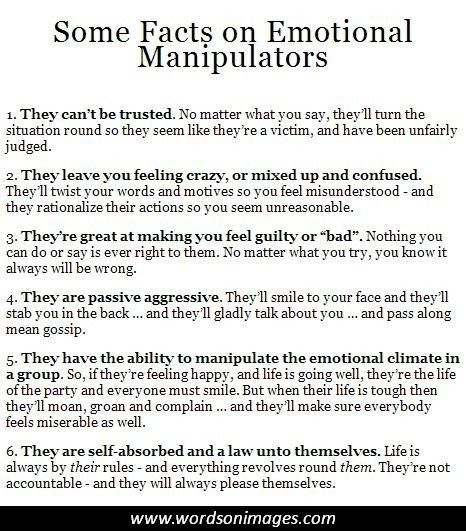 Signs he is controlling and manipulative