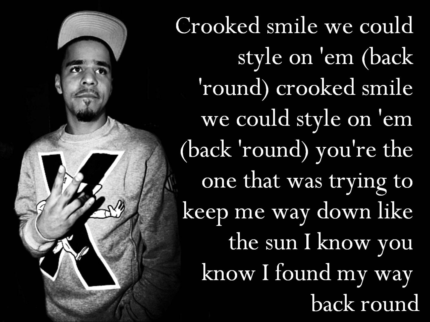 What does crooked smile mean
