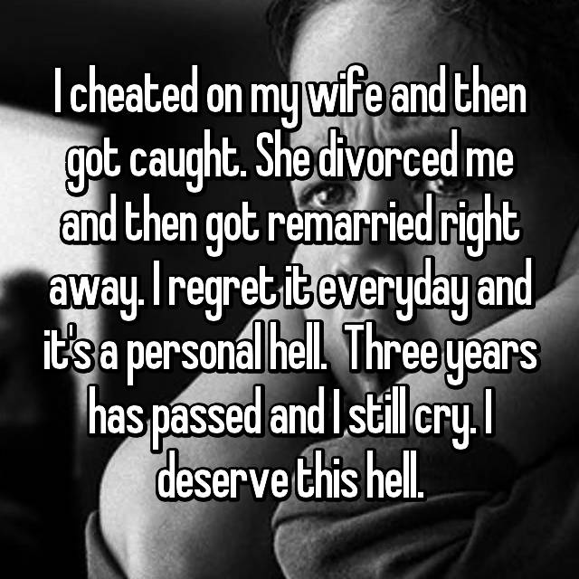 Regret divorcing husband