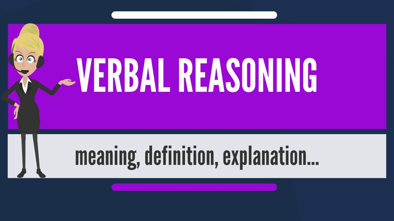What does verbal mean