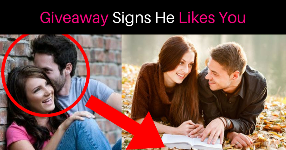 Clues that he likes you