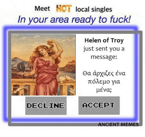 Where to find singles in your area