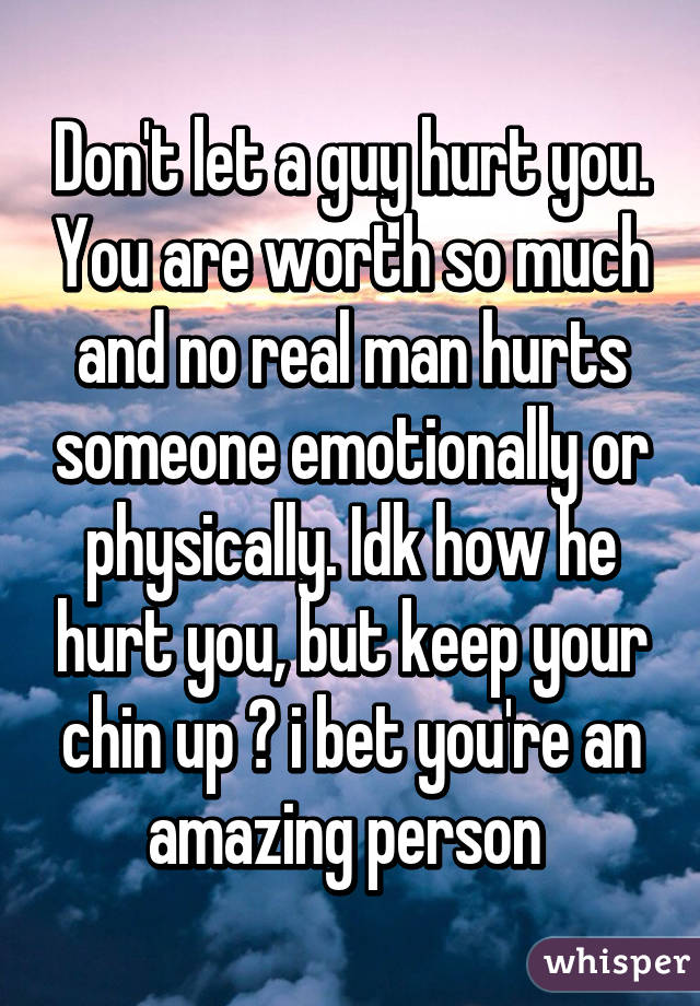 How to hurt a guy emotionally