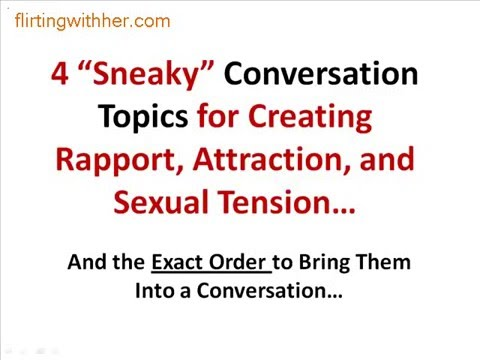 Great topics to talk about