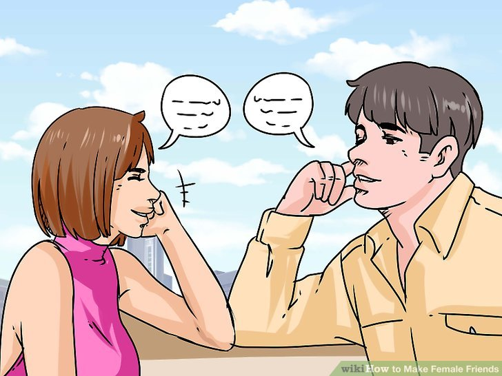 How to make female friends as a guy