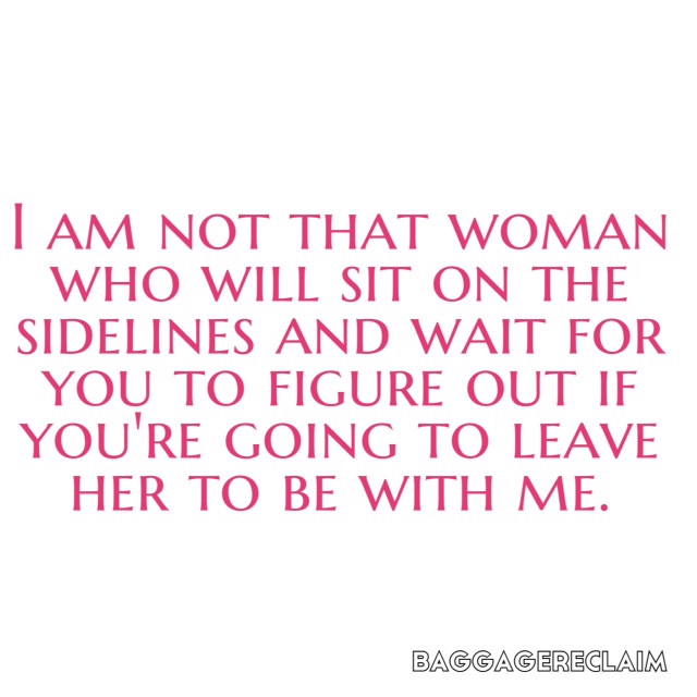 Breaking up with a married man quotes