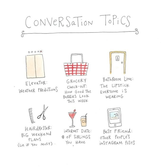Conversation topics for dates