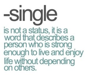 How many people are single