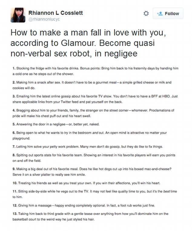 How not to fall for a guy