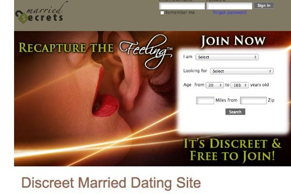 Dating sites for married people