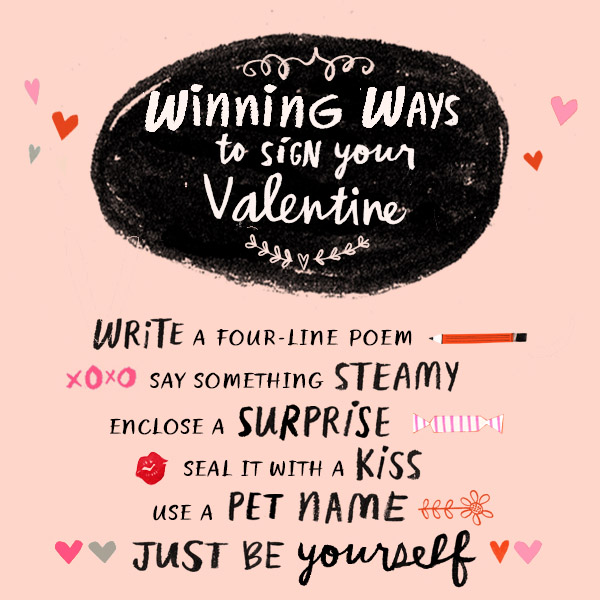 What to write on a valentines day card
