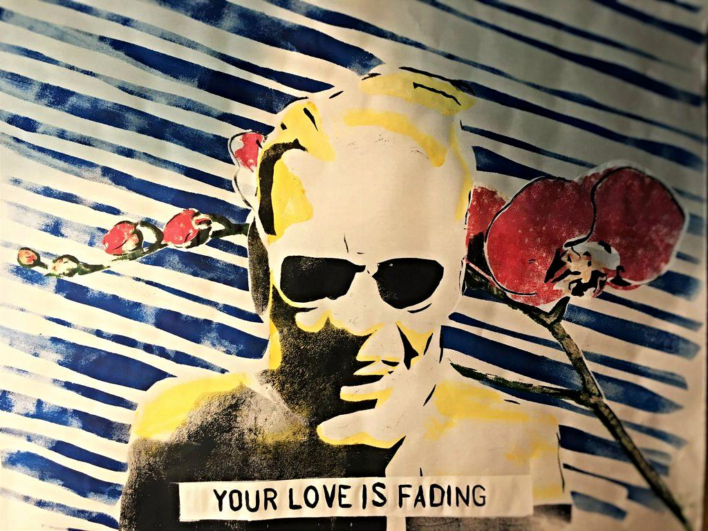 Your love is fading