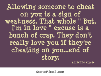 Staying with someone who cheated on you