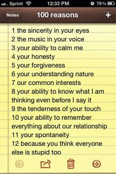 10 reasons why you love your boyfriend