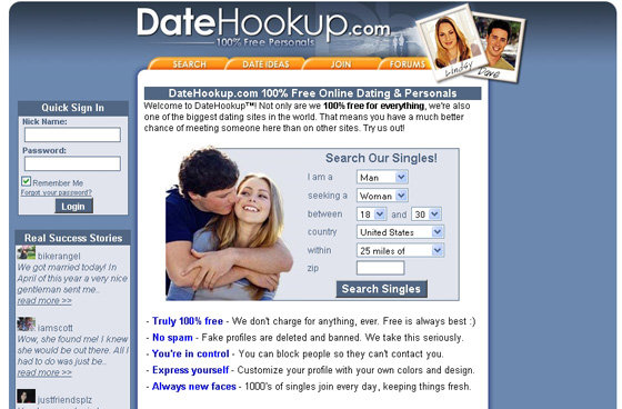 Free dating site com