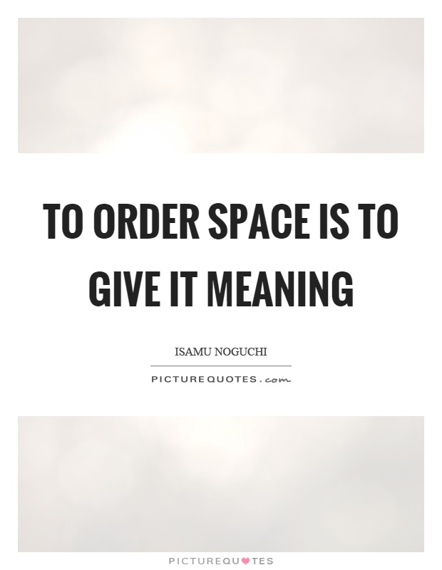 Give me space meaning