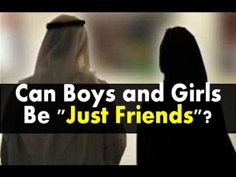 Can girls be friends with boys