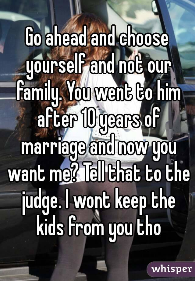 Why won t he marry me after 10 years