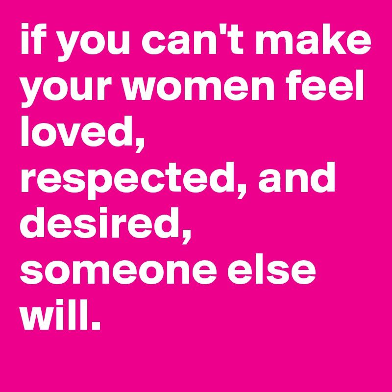 Words that make a woman feel special