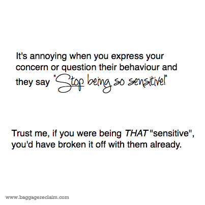 How to overcome being too sensitive