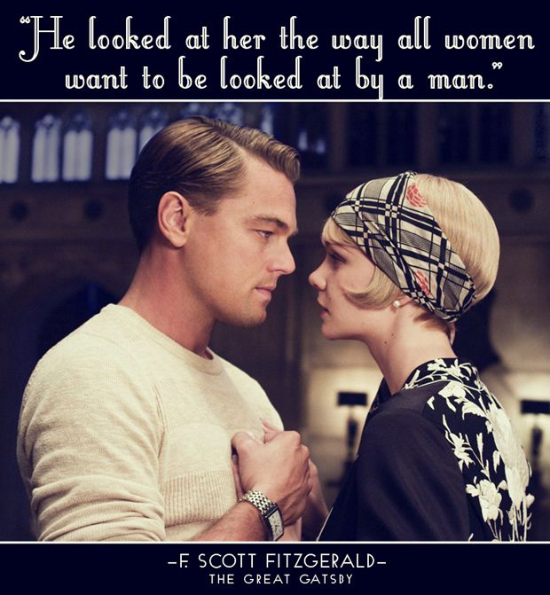 The way a man looks at a woman he likes