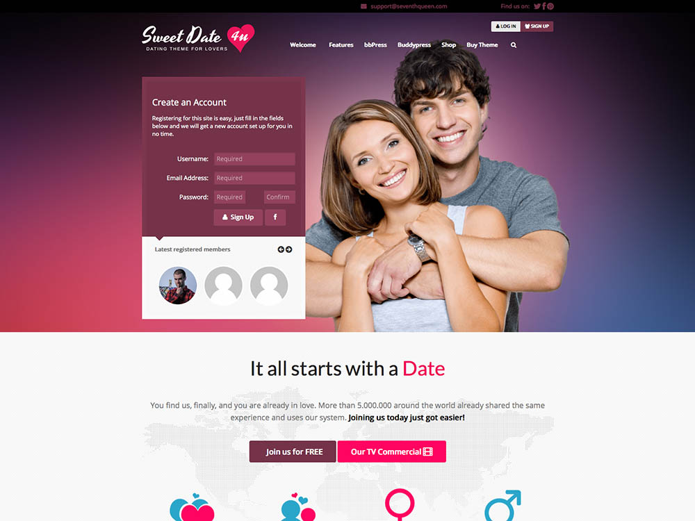 Free dating sites without email address