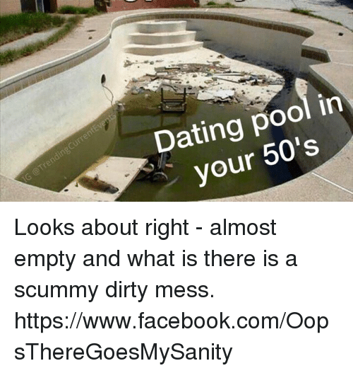 Dating in your 50s