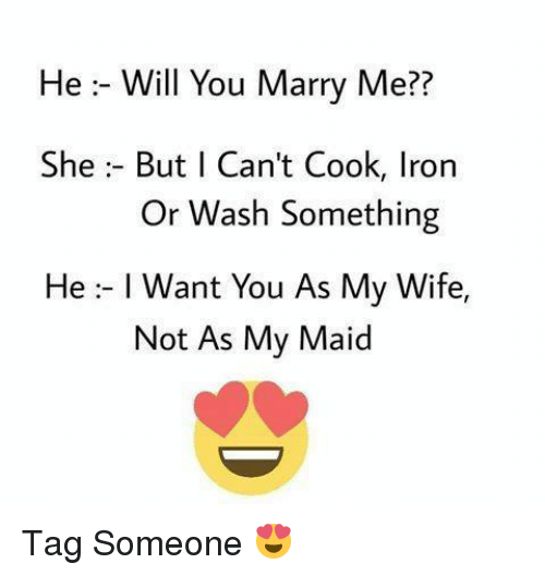 Will he marry me