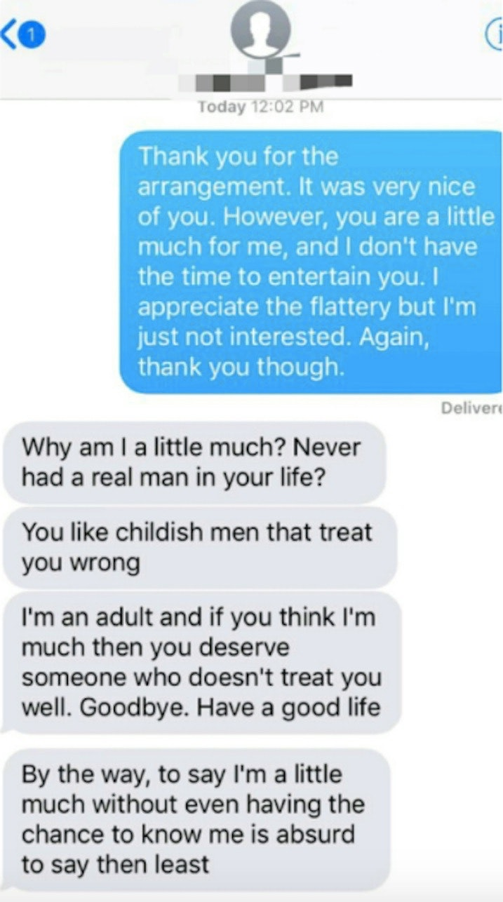 How to handle rejection from a man