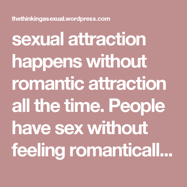 Relationship without sexual attraction