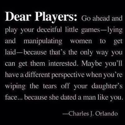 Game players in relationships